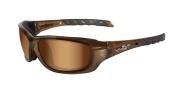 Wiley X Wx Gravity Sunglasses Sunglasses - CCGRA06 Brown Crystal / Bronze Flash Lens