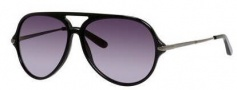 Marc by Marc Jacobs MMJ 426/S Sunglasses Sunglasses - 0ANS Black (HD gray gradient lens)