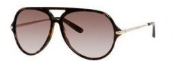Marc by Marc Jacobs MMJ 426/S Sunglasses Sunglasses - 0ANT Dark Havana (HA brown gradient lens)