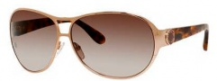 Marc by Marc Jacobs MMJ 427/S Sunglasses Sunglasses - 05TT Gold Copper (J6 brown gradient lens)