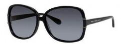 Marc by Marc Jacobs MMJ 428/S Sunglasses Sunglasses - 0807 Black (HD gray gradient lens)