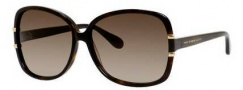 Marc by Marc Jacobs MMJ 428/S Sunglasses Sunglasses - 0086 Dark Havana (HA brown gradient lens)