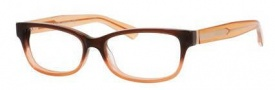 Marc by Marc Jacobs MMJ 598 Eyeglasses Eyeglasses - 05XM Brown Orange Crystal
