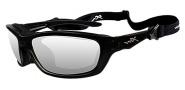 Wiley X Wx Brick Sunglasses Sunglasses - 853 Gloss Black / Clear Lens