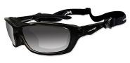 Wiley X Wx Brick Sunglasses Sunglasses - 857 Gloss Black / Polarized Smoke Grey Lens