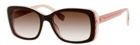 Fendi 0002/S Sunglasses Sunglasses - 07PH Brown Burgundy Pink (K8 brown gradient lens)