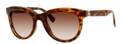 Fendi 0006/S Sunglasses Sunglasses - 08NH Blonde Havana (JD brown gradient lens)
