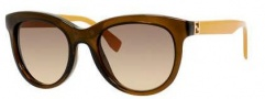 Fendi 0006/S Sunglasses Sunglasses - 07QQ Transparent Brown (ED brown gradient lens)