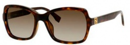 Fendi 0007/S Sunglasses Sunglasses - 0EDJ Havana (HA brown gradient lens)