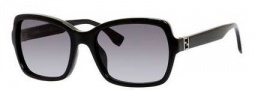 Fendi 0007/S Sunglasses Sunglasses - 0D28 Shiny Black (HD gray gradient lens)