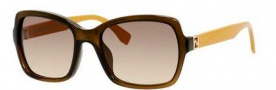Fendi 0007/S Sunglasses Sunglasses - 07QQ Transparent Brown (ED brown gradient lens)
