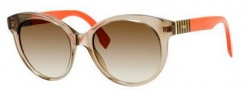 Fendi 0013/S Sunglasses Sunglasses - 07TL Mud (DB brown gray gradient lens)