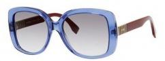 Fendi 0014/S Sunglasses Sunglasses - 07TR Blue (LF gray gradient lens)