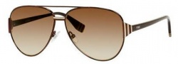 Fendi 0018/S Sunglasses Sunglasses - 07SE Dark Brown (CC brown gradient lens)
