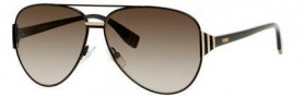 Fendi 0018/S Sunglasses Sunglasses - 07SD Semi Matte Black (HA brown gradient lens)