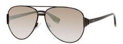 Fendi 0018/S Sunglasses Sunglasses - 07SB Shiny Black (NQ brown mirror gradient lens)