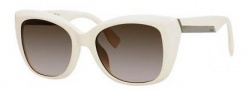 Fendi 0019/S Sunglasses Sunglasses - 0BMN Ivory (HA brown gradient lens)