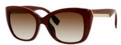 Fendi 0019/S Sunglasses Sunglasses - 0COI Opal Burgundy (CC brown gradient lens)