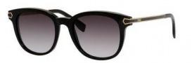 Fendi 0021/S Sunglasses Sunglasses - 07US Black (9O dark gray gradient lens)