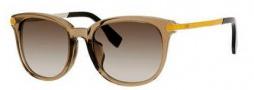 Fendi 0021/S Sunglasses Sunglasses - 07UQ Mud (HA brown gradient lens)