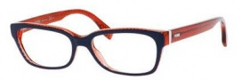 Fendi 0004 Eyeglasses Eyeglasses - 07PP Blue Red