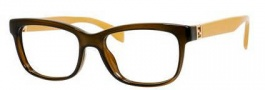 Fendi 0009 Eyeglasses Eyeglasses - 07QQ Transparent Brown