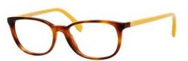 Fendi 0010 Eyeglasses Eyeglasses - 07SL Havana Ochre