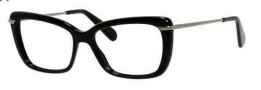 Marc Jacobs 544 Eyeglasses Eyeglasses - 0ANS Black Dark Ruthenium