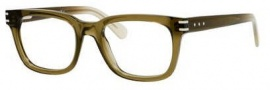 Marc Jacobs 536 Eyeglasses Eyeglasses - 06OZ Green Mud Palladium