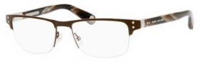 Marc Jacobs 518 Eyeglasses Eyeglasses - 00OO Brown Light Gold / Horn