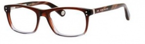 Marc Jacobs 516 Eyeglasses Eyeglasses - 00OM Red Gray / Horn