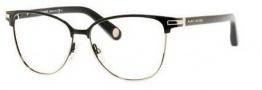 Marc Jacobs 510 Eyeglasses Eyeglasses - 0J6O Shiny Black Gold