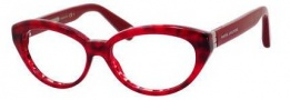 Marc Jacobs 481 Eyeglasses Eyeglasses - 0BVR Striped Red