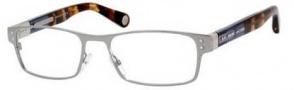 Marc Jacobs 478 Eyeglasses Eyeglasses - 050T Ruthenium Black Brown Havana