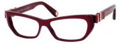 Marc Jacobs 453 Eyeglasses Eyeglasses - 0YBH Burgundy / Pearlized