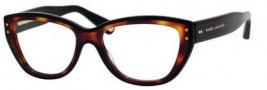 Marc Jacobs 446 Eyeglasses Eyeglasses - 038W Black Havana