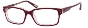Marc Jacobs 338 Eyeglasses Eyeglasses - 0S2P Burgundy Sand Opal