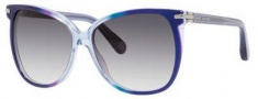 Marc Jacobs 504/S Sunglasses Sunglasses - 00NI Blue (9C dark gray gradient lens)