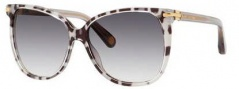 Marc Jacobs 504/S Sunglasses Sunglasses - 00NG Leopard Gray (9C dark gray gradient lens)