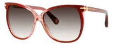 Marc Jacobs 504/S Sunglasses Sunglasses - 00NK Red Shaded (JS gray gradient lens)