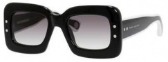 Marc Jacobs 501/S Sunglasses Sunglasses - 0EIU Black (9C dark gray gradient lens)