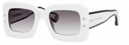 Marc Jacobs 501/S Sunglasses Sunglasses - 0EIS White (9C dark gray gradient lens)