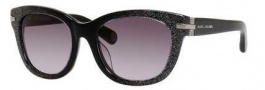 Marc Jacobs 490/F/S Sunglasses Sunglasses - 0DRW Black Glitter (EU gray gradient lens)
