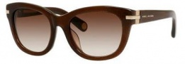 Marc Jacobs 490/F/S Sunglasses Sunglasses - 0YHE Brown Glitter (JD brown gradient lens)