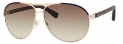 Marc Jacobs 475/S Sunglasses Sunglasses - 054Q Gold / Dark Havana (CC brown gradient lens)