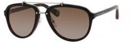 Marc Jacobs 470/S Sunglasses Sunglasses - 0BG4 Black Dark Tortoise (LA brown polarized lens)