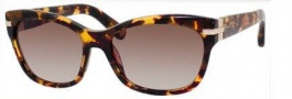Marc Jacobs 469/S Sunglasses Sunglasses - 050E Havana (HA brown gradient lens)
