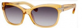 Marc Jacobs 469/S Sunglasses Sunglasses - 0521 Transparent Ochre (BD dark gray gradient lens)
