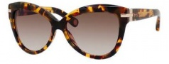 Marc Jacobs 468/S Sunglasses Sunglasses - 050E Havana (HA brown gradient lens)
