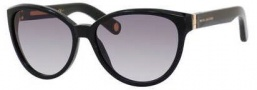Marc Jacobs 465/S Sunglasses Sunglasses - 0807 Black (VK gray gradient lens)